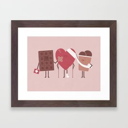 Comfort Food Framed Art Print