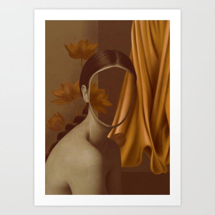 Lady-Portrait Art Print