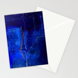 Into The Blue No.3a by Kathy Morton Stanion Stationery Cards