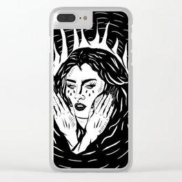Lauren Jauregui Clear iPhone Case