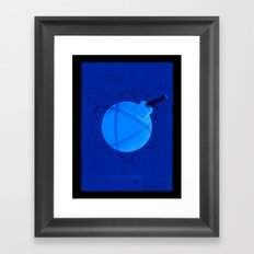 Atom Bomb Framed Art Print