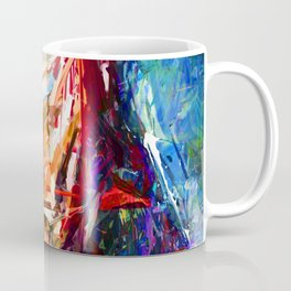 BRUSH STROKE IRONMAN Coffee Mug