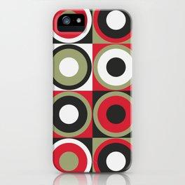 Lucky Strike retro circles iPhone Case