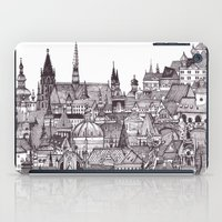 prague iPad Cases featuring Prague by Justine Lecouffe