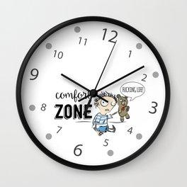 Confort Zone Wall Clock