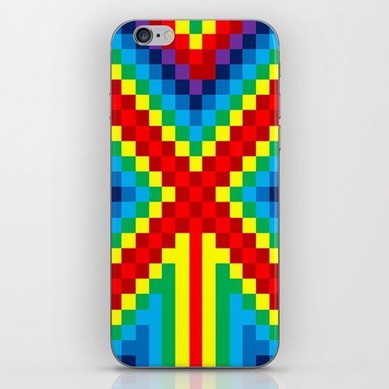 Fuzz Line #4 iPhone & iPod Skin