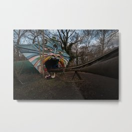 Spreepark, abandoned amusement park Metal Print