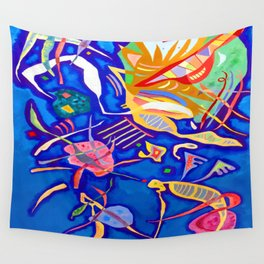 Kandinsky Grouping Wall Tapestry