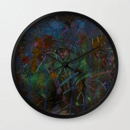 Midnight Garden cycle22 1 Wall Clock