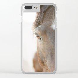 Grace Clear iPhone Case