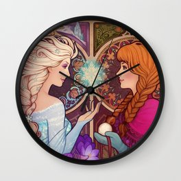 Let Me In Wall Clock