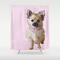 baby Shower Curtains featuring Baby by Nicole Fox Designs