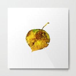 Aspen Leaf 1 Metal Print