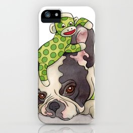 Pouting Bubba iPhone Case