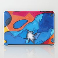 stained glass iPad Cases featuring Stained Glass by Christine Alexandria