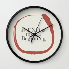 Tiziano Terzani, Bruno Ganz, Germano, The end is my beginning. La fine è il mio inizio, Movie Poster Wall Clock