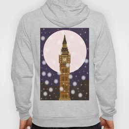 London Christmas Eve Hoody