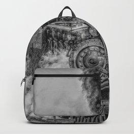 Vintage Steam Train Photo Backpack