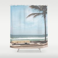rio Shower Curtains featuring RIO by Studio Laura Campanella