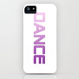 Dance dancing Music Present iPhone Case