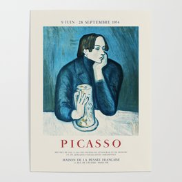 Picasso - Exhibition poster Poster