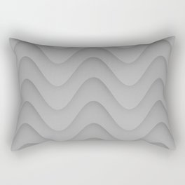 Wavy Rectangular Pillow