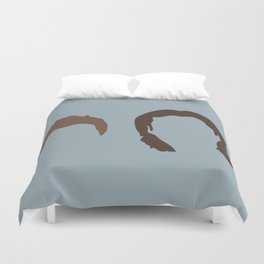 Supernatural Sam and Dean, ya'll Duvet Cover