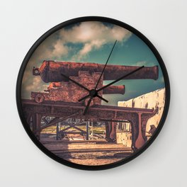 Protectors of Nassau Wall Clock