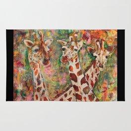 Giraffes Rug