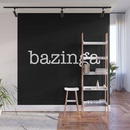 bazinga Wall Mural