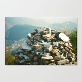 Tibetan Prayer Mound Canvas Print