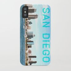 San Diego  iPhone X Slim Case