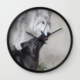 Submitting to the Alpha Wall Clock