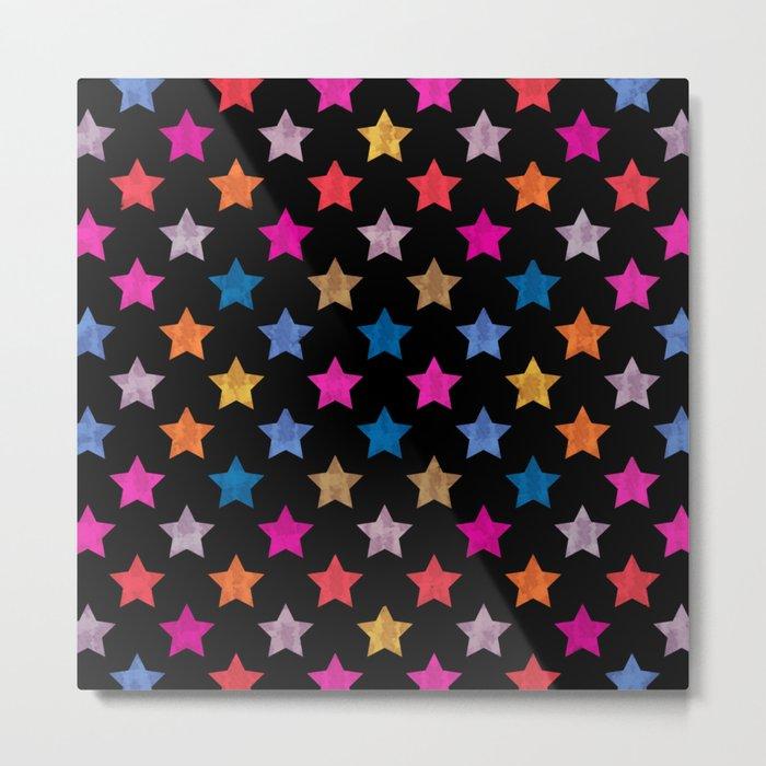 Colorful Star IV Metal Print