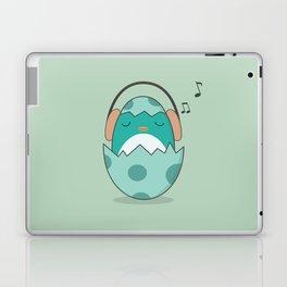 Kawaii Cute Music Loving Bird Laptop & iPad Skin