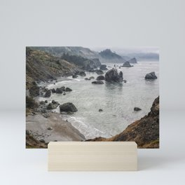 Rock Formations Around Sisters Rock State Park Mini Art Print
