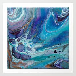 Swirls - 1 Art Print