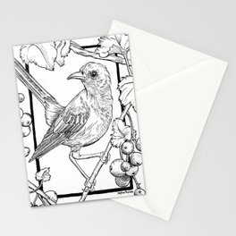 Cenzontle Bird Stationery Cards