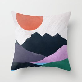 Three Sisters Throw Pillow