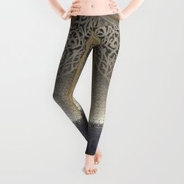 At the music hall Leggings