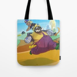 The Junkboys Take the Mushroom Kingdom Tote Bag