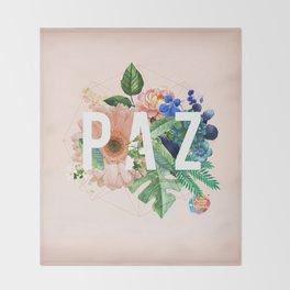 Paz Throw Blanket