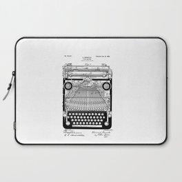 patent art Granville Type Writer 1900 Laptop Sleeve