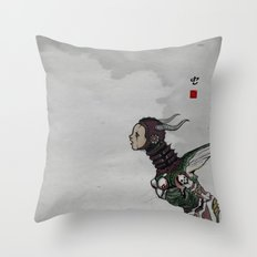 worm Throw Pillow