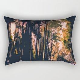 Mysterious Komorebi Rectangular Pillow