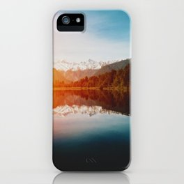 Lake Matheson iPhone Case