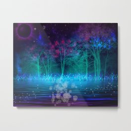 """Mystical Night"" Metal Print"