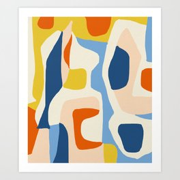 Me & Mine #abstract #painting Art Print