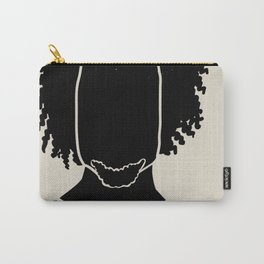 Black Hair No. 9 Carry-All Pouch