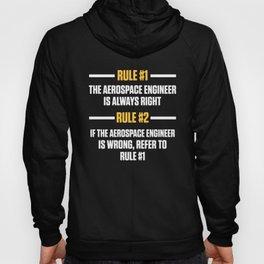 Aerospace Engineer Rules Engineering Gifts design Hoody